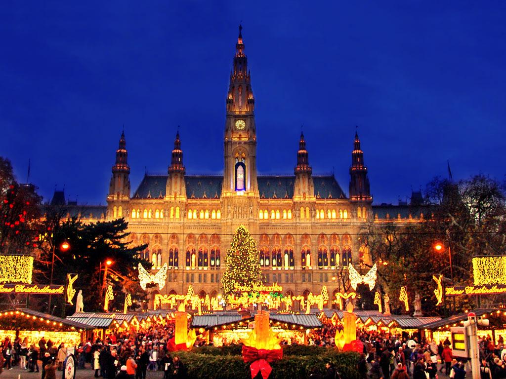 Vienna's famous holiday markets